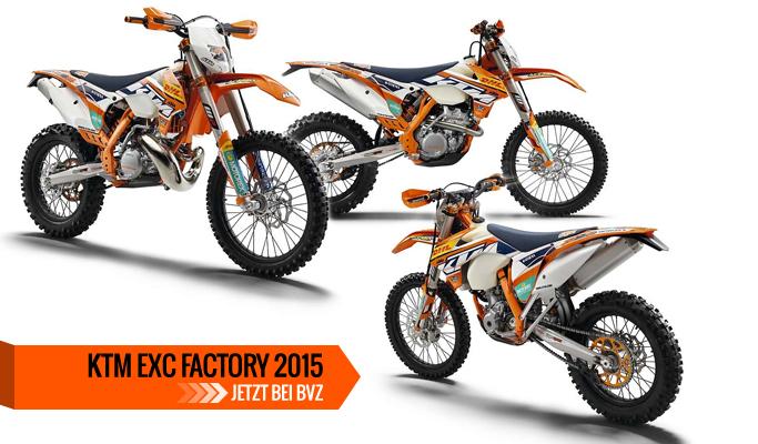 KTM EXC Factory Modelle 2015