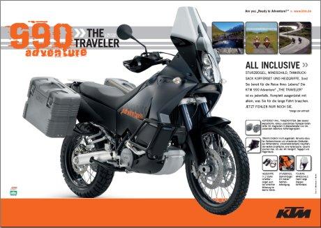 KTM 990 Adventure Traveller