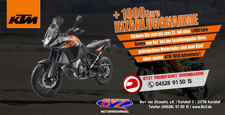 Angebot KTM 1050 Adventure