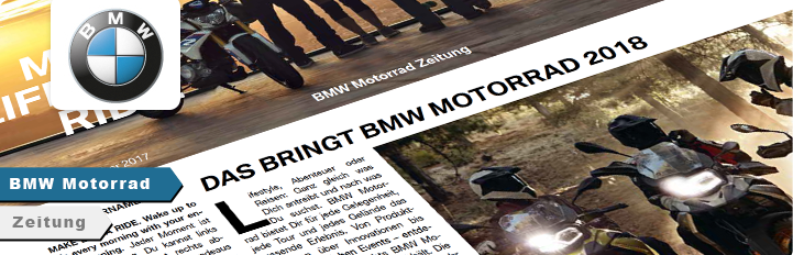 BMW Motorrad Zeitung