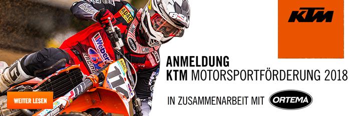 KTM Motorsportförderung