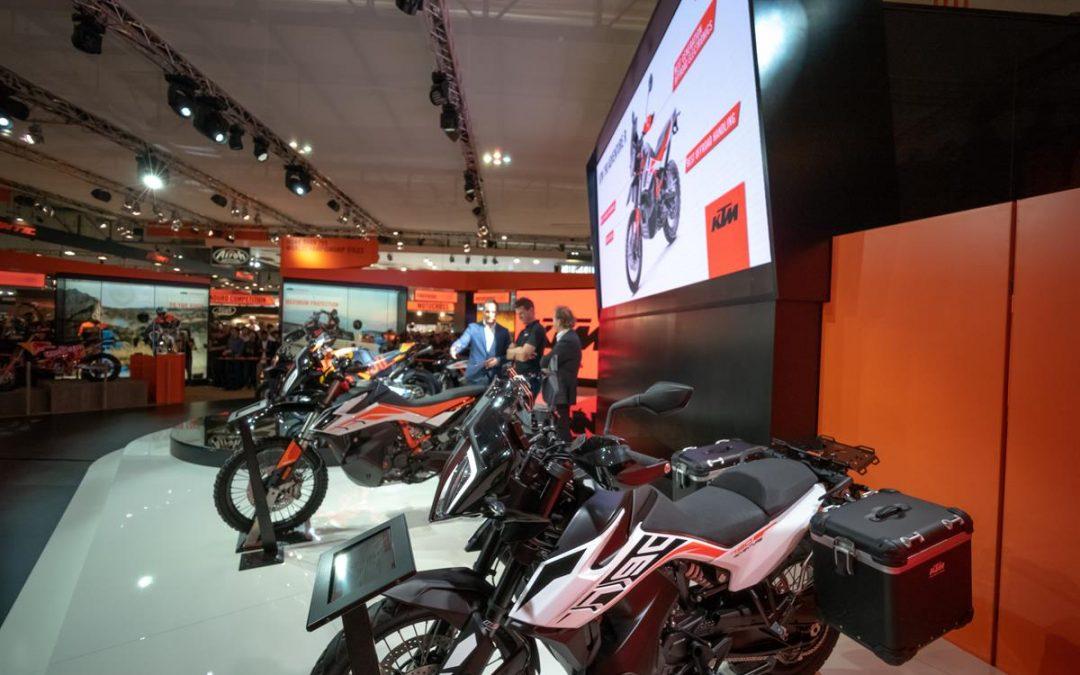 EICMA Mailand: neue KTM Modelle
