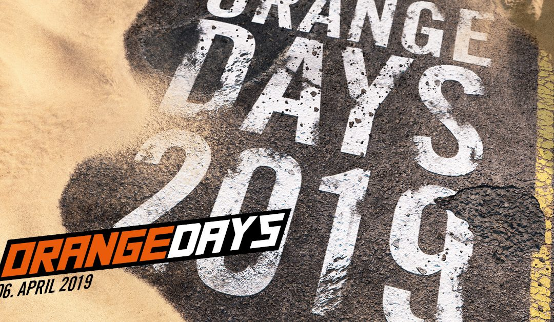 KTM ORANGE DAYS 2019 – 06. April 2019