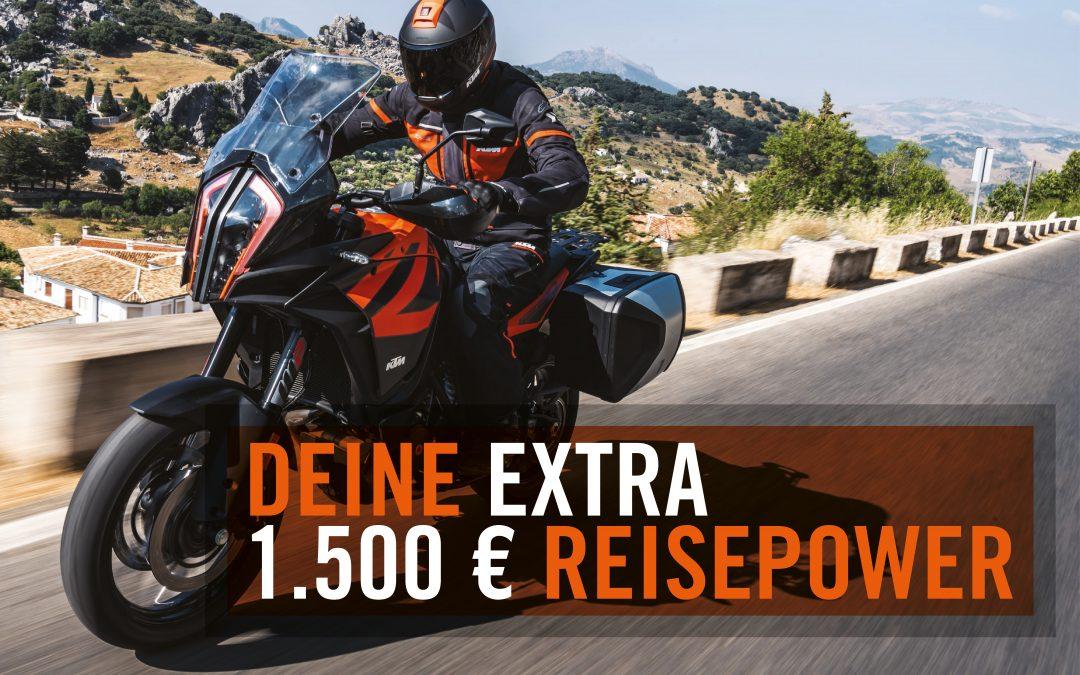 Deine Extra Reisepower 790 Adventure + 1290 Super Adventure S
