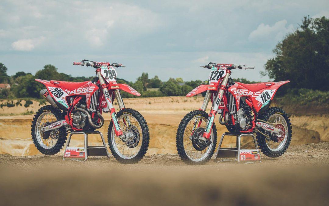GASGAS Factory Racing stellt neue MXGP und MX2 Motocross factory bikes vor
