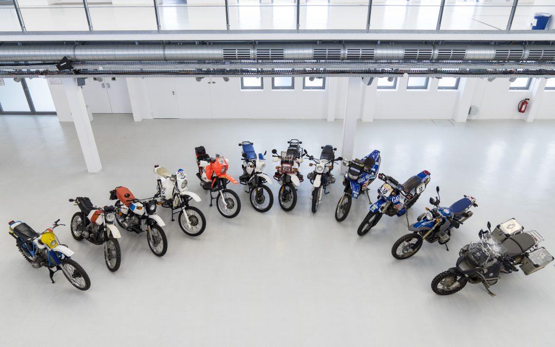 BMW Motorrad feiert 40 Jahre BMW GS Modelle. Ein Konzept, das die Motorradwelt veränderte.