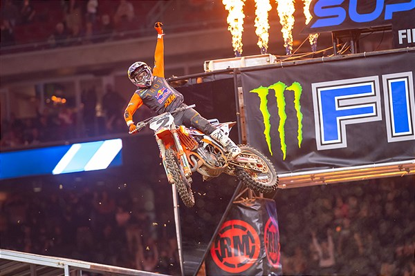 COOPER WEBB DELIVERS RED BULL KTM FIRST 450SX WIN OF 2021