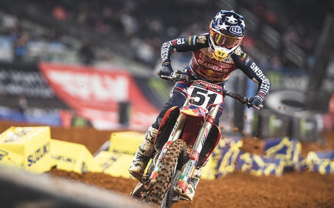 BARCIA GIVES HIS ALL IN TEXAS WITH A HARD-FOUGHT FOURTH PLACE AT ROUND 12