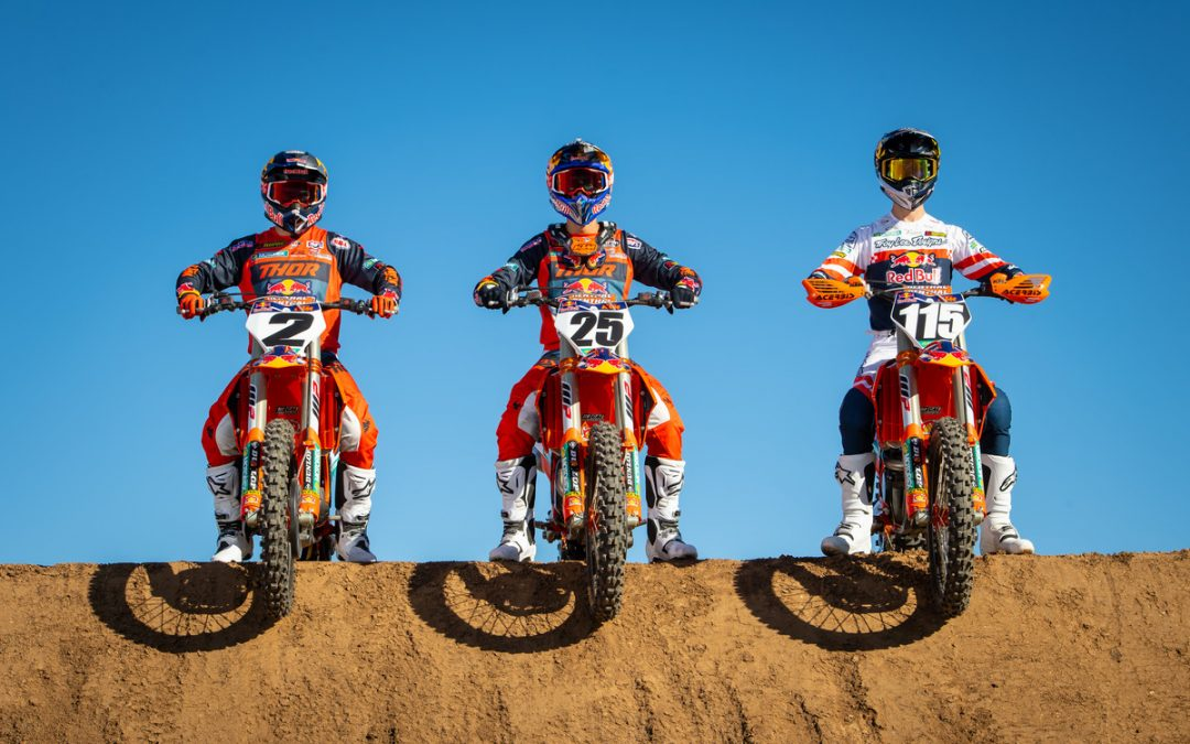 RED BULL KTM FACTORY RACING TEAM CARRIES GREAT MOMENTUM INTO PRO MOTOCROSS SERIES OPENER THIS SATURDAY IN SOUTHERN CALIFORNIA